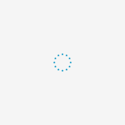 Vet Bed Stripes - Grijs Wit Turquoise - Latex Anti Slip